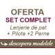 Lenjerie + Pilota + 2 Perne ( OFERTA) ⭐