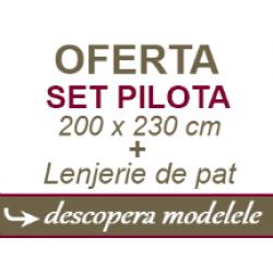 Lenjerie + Pilota Dubla ( OFERTA ) ⭐